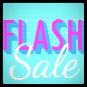 Flash SALE! Prices dropped! Now-  Saturday 10am